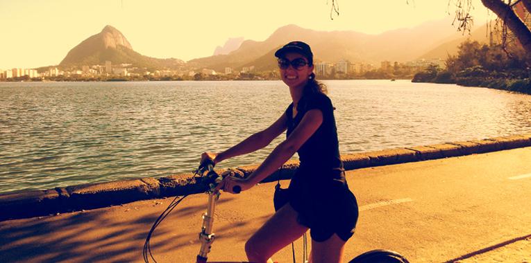 Bike na Lagoa Rodrigo de Freitas