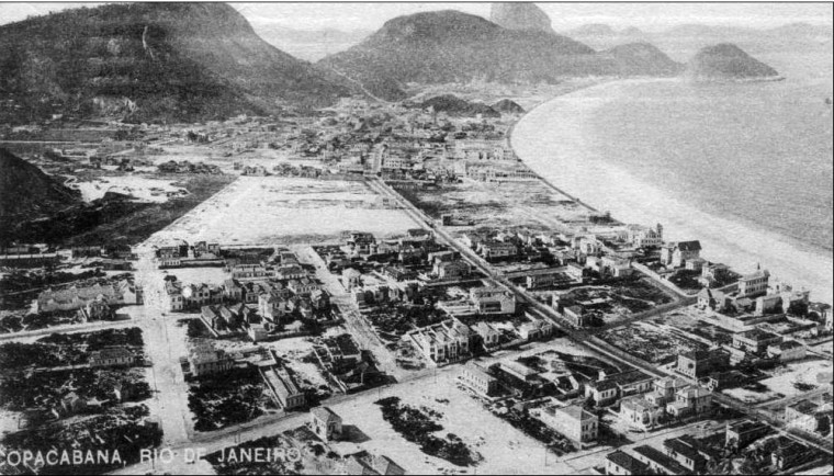 Copacabana em 1900