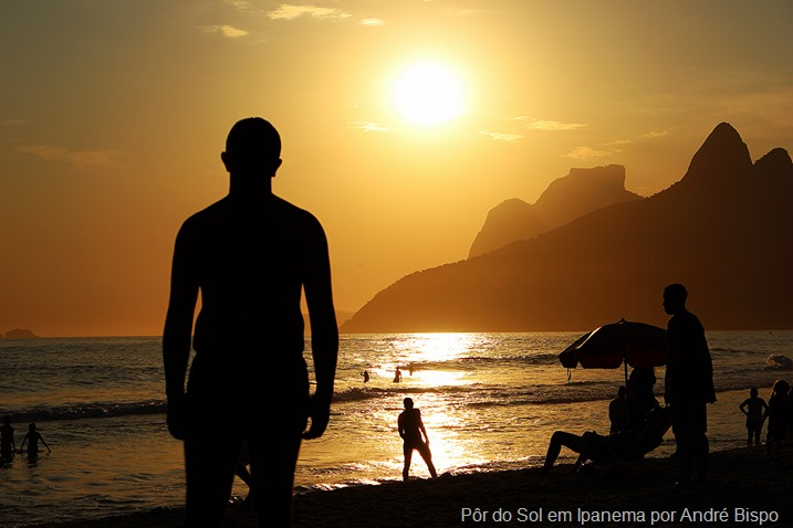 Por do sol Ipanema