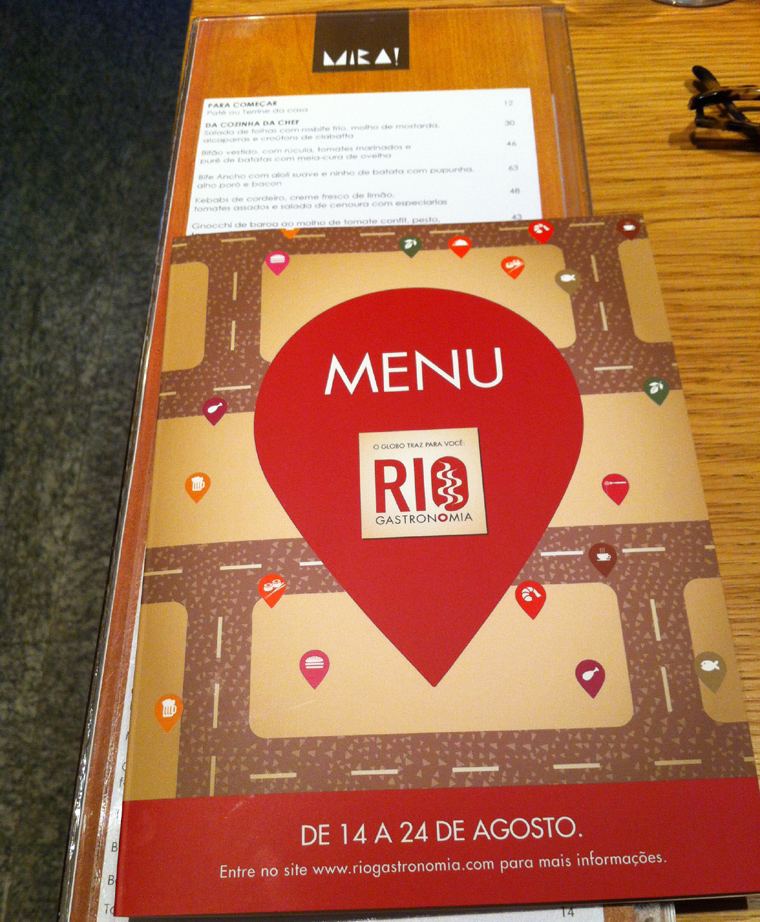 Restaurante Mira RJ 3