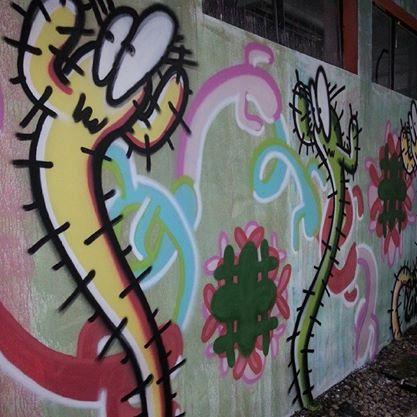 Obra Draga - grafite