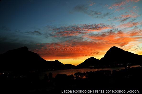 Sunset Lagoa