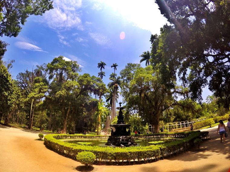 Chafariz Jardim Botânico RJ