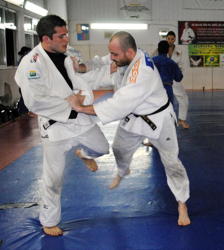 Atleta Victor Penalber/Judô