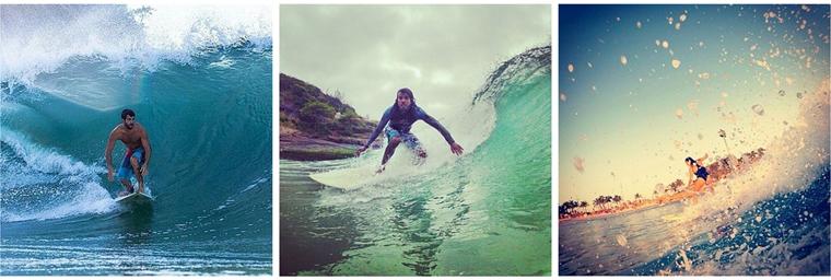 Instagram Surf rio