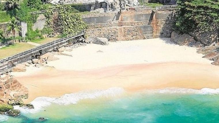 Foto post nova praia Leblon - destaque
