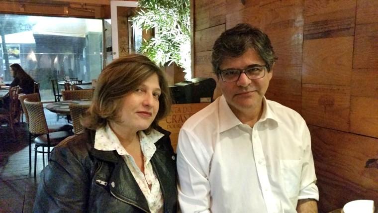 Patricia Cabral e Jacinto Correa - atual
