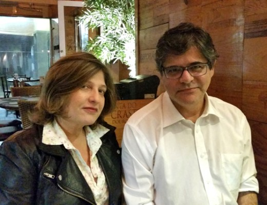 Patricia Cabral e Jacinto Correa - destaque