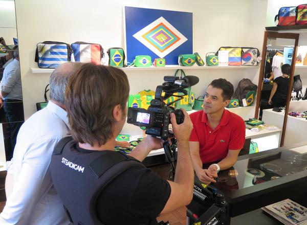 Gilson Martins em entrevista para China