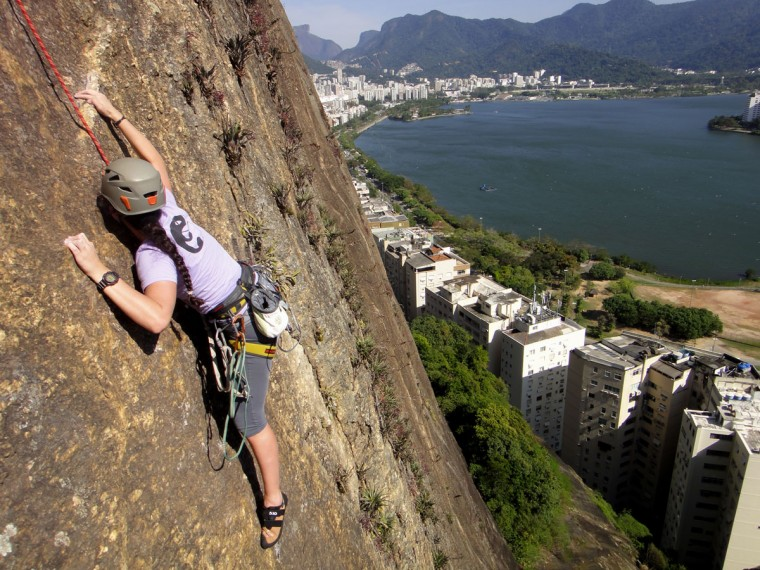 Escalada no Corcovado