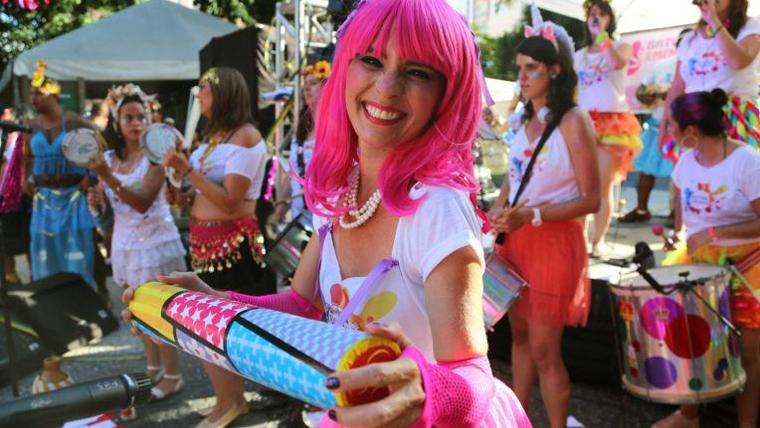Foto carnaval de Rua no Rio