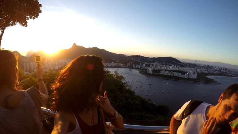 Sunset no Morro_destaque