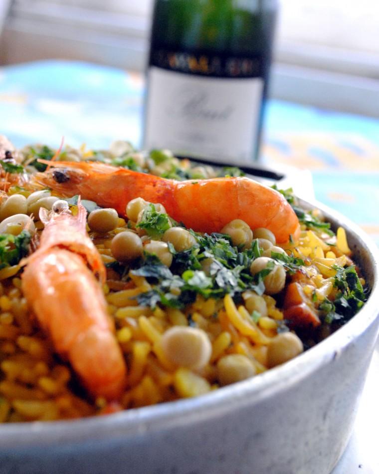 Paella de frutos do mar_Umas e Ostras