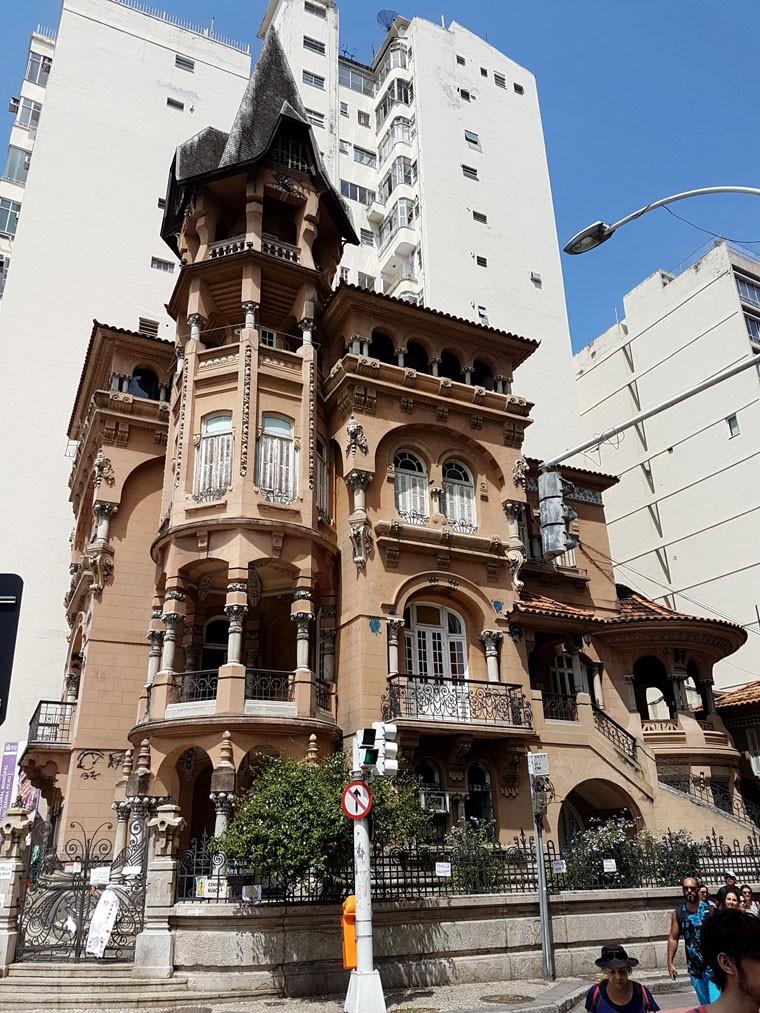 Centro Cultural Municipal Oduvaldo Vianna Filho - Castelinho do Flamengo