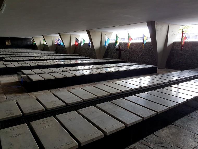 Homenagem aos militares mortos na segunda guerra mundial 2