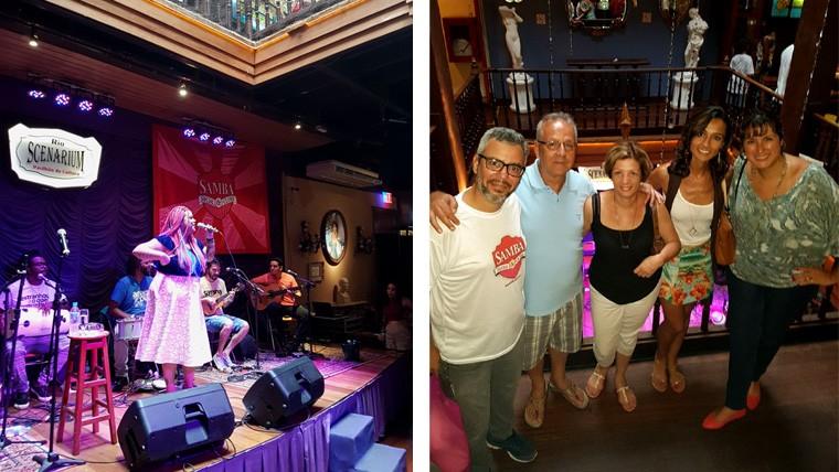 Feijoada Rio Scenarium (Foto: Samba Social Club | Edu, meu pais, eu e Naira)