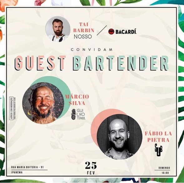 Convite Guest Bartendes Nosso