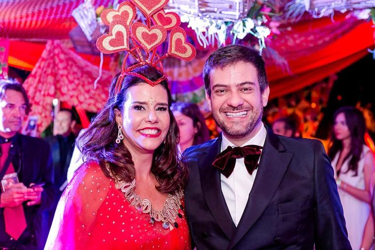 Narcisa Tamborindeguy e Bruno Astuto (Foto: Miguel Sá)