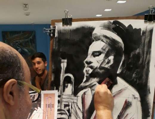 live painting casa e gourmet shopping_dest