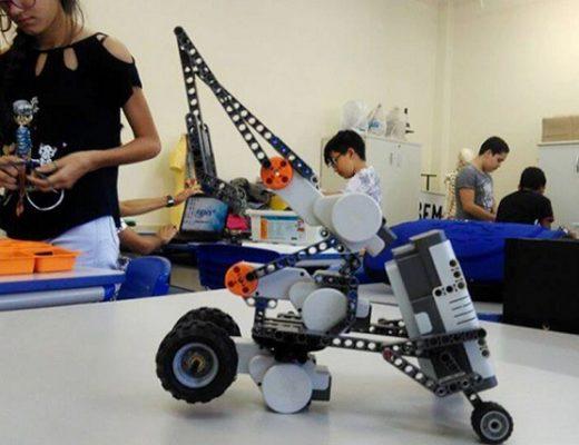 Feira de robótica